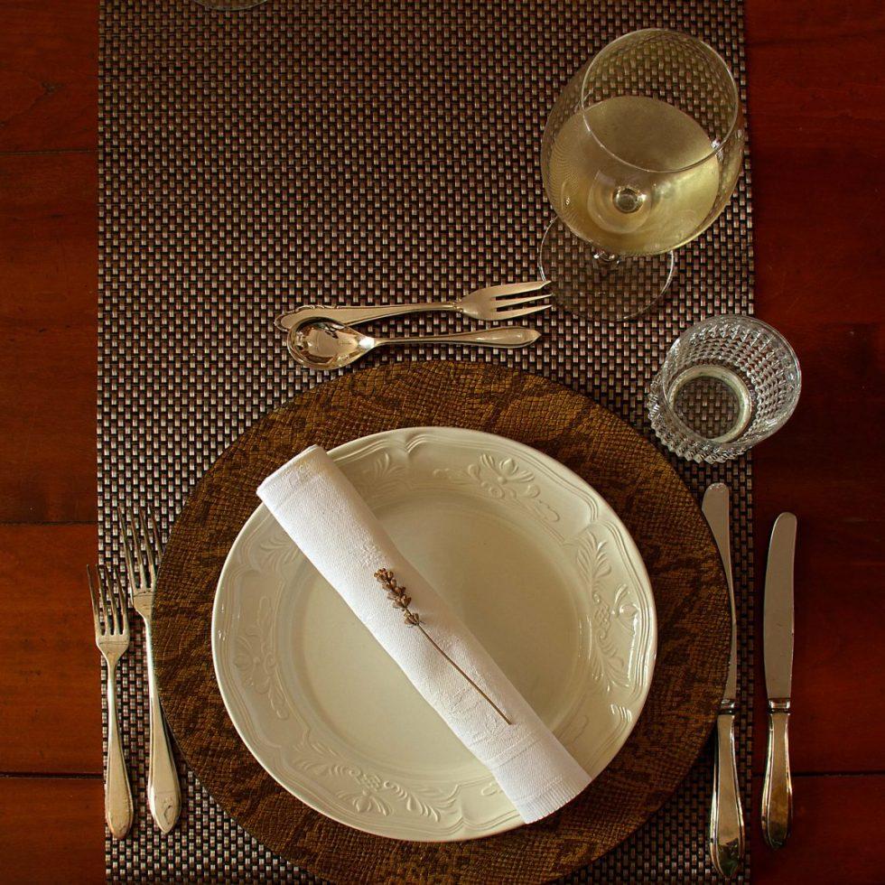 Dinner couvert Villa Anna