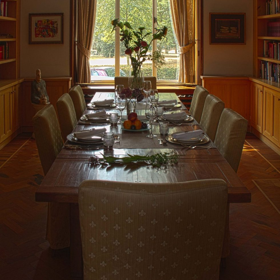 Eettafel Bibliotheek